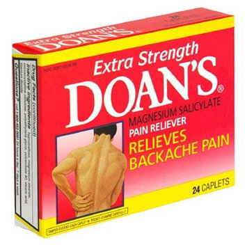 Doan's Backache Pain Relief Caplets, Extra Strength, 24-Count Boxes (Pack of 3)