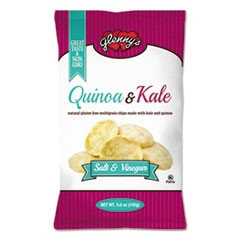 Glenny's Quinoa & Kale Gluten Free Multi Grain Chips, Salt & Vinegar, 5 oz Bag