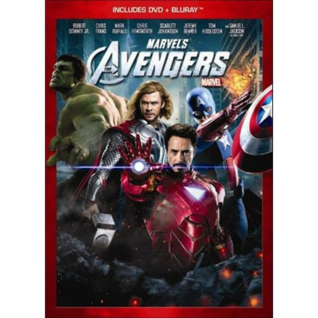 Disney Marvel's The Avengers [2 Discs] [DVD/Blu-ray] (used)