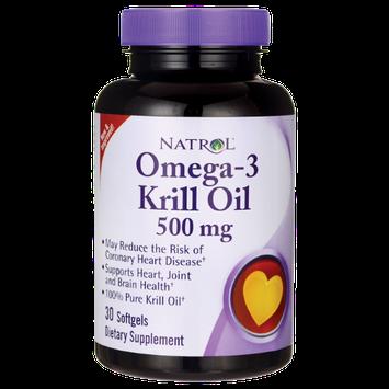 Natrol Omega-3 Krill Oil 500 mg - 30 Softgels