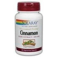 Cinnamon Bark Extract Solaray 60 VCaps