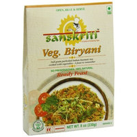 Sanskriti Vegetable Biryani, 8 Ounce (Pack of 6)