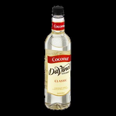 DaVinci Gourmet Classic Coconut Syrup
