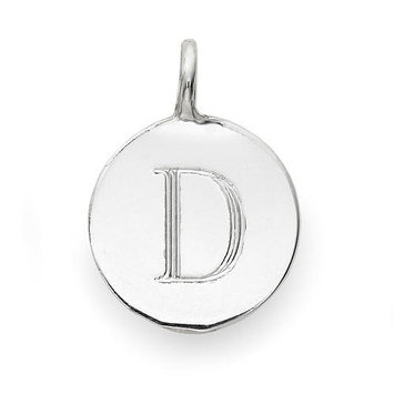 Sarah Chloe Sterling Silver Engraved D Add On