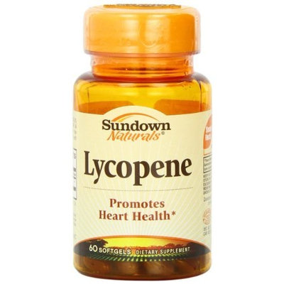 Sundown Naturals Lycopene, 60 Softgels (Pack of 3)