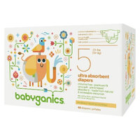 BabyGanics Diapers Value Pack - Size 5 (68 Count)