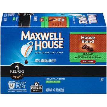Kraft Foods, Inc Cafe Collection Coffee, Single Serve Cups, Medium Roast, House Blend, Decaf, 12 single serve cups [3.7 oz (105 g)]
