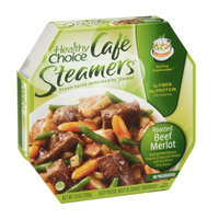 Healthy Choice Cafe Steamers Roated Beef Merlot