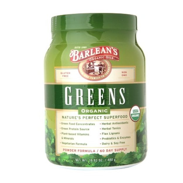 Barlean's Organic Oils Greens Organic Superfood
