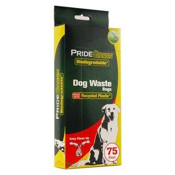 PrideGreen Biodegradable Dog Waste Bags, 1 Box (75 bags)