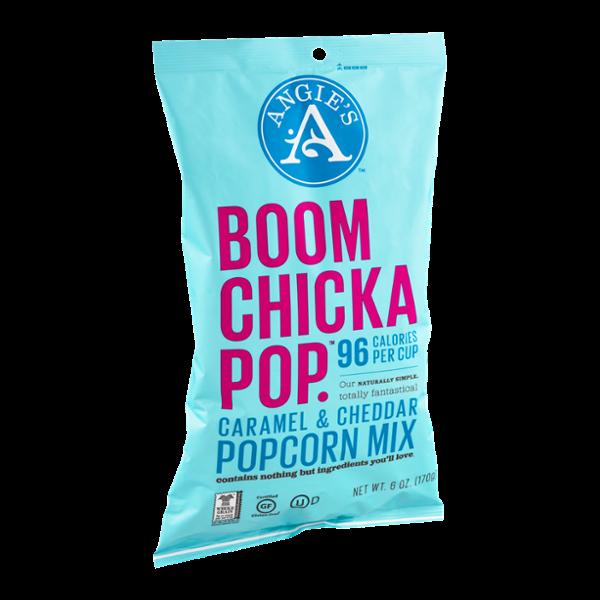 Angie's Boom Chicka Pop Caramel & Cheddar Popcorn Mix