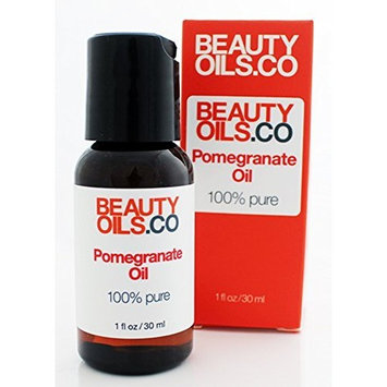 BEAUTYOILS.CO Pomegranate Seed Oil Moisturizer - 100% Pure Cold Pressed (1 fl oz)