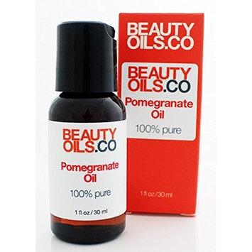 BEAUTYOILS.CO Pomegranate Seed Oil Moisturizer - 100% Pure Cold Pressed (1 fl oz)