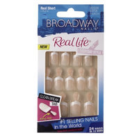 Broadway Nails Real Life Glue-On Nail Kit