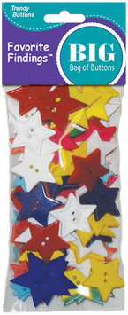 Blumenthal Lansing Favorite Findings Big Bag Of Buttons-Stars 3.5oz