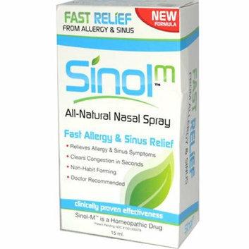 Sinol -M Homeopathic Allergy and Sinus Relief 15 ml