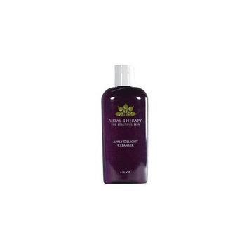 Vital Therapy For Beautiful Skin Vital Therapy Cleanser, Apple Delight, 4 Ounce