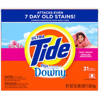 Tide Ultra  Plus a Touch of Downy April Fresh Frescura Primaveral Powder Laundry Detergent