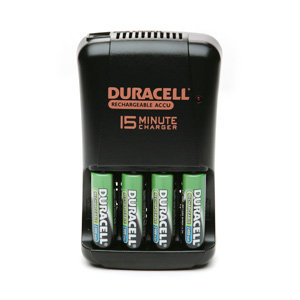 Duracell Rechargeable 15-Minute Charger