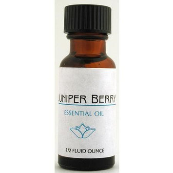 Lotus Brands - Pure Essential Oil, Juniper Berry, 0.5 oz