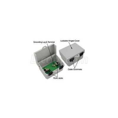 L-Com BT-CAT5E-P1-HPW - Outdoor Single-Port Passive Midspan/Injector w