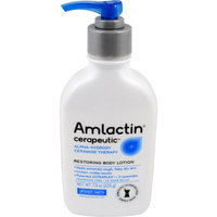 AmLactin Cerapeutic Alpha-Hydroxy Ceramide Therapy Restoring Body Lotion Fragrance Free