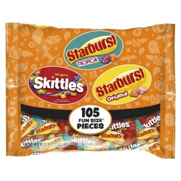 Skittles and Starburst Fun Size Mix