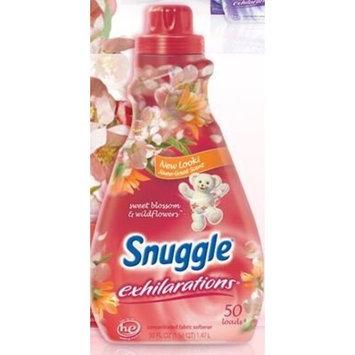 Snuggle Exhilaration Liquid Fabric Softener, 50 oz. (Pack of 4)