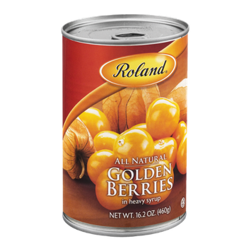 Roland All Natural Golden Berries in Heavy Syrup