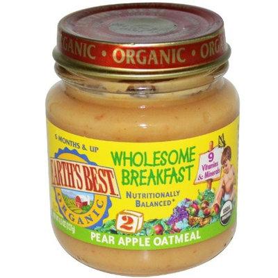 Hain Celestial Group 1011531 Wholesome Breakfast, Pear Apple Oatmeal, 4.5 oz (127 g)