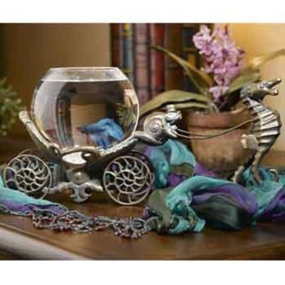 Betta Treasures Collection Enchanted Evening Betta Bowl in Victorian Brass