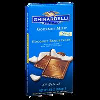 Ghirardelli Gourmet Milk Coconut Rendezvous All Natural Milk Chocolate