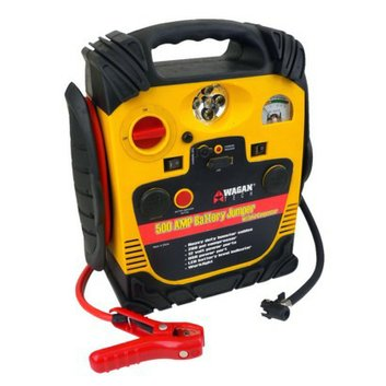 Wagan 500-Amp Battery Jumper with Air Compressor