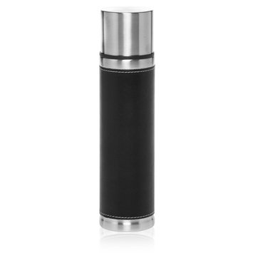 Natico Originals, Inc. Stainless Steel with Faux Leather 17 oz. Flask
