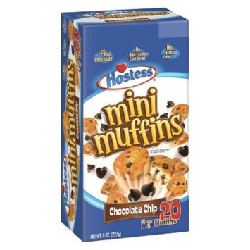 Hostess Chocolate Chip Mini Muffins 20 ct