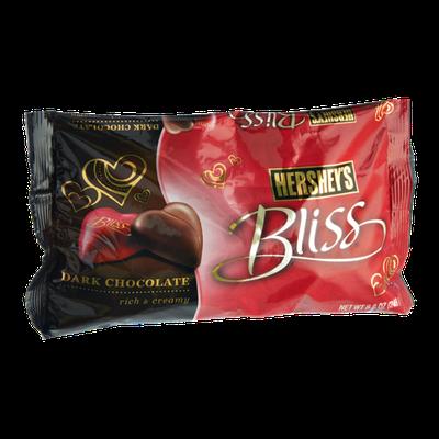 Hershey's Valentine's Bliss Dark Chocolate Hearts