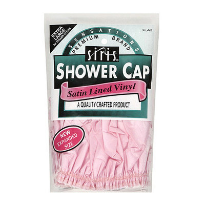 Sensations Satin Lined Vinyl Shower Cap