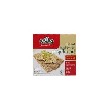 Orgran Toasted Buckwheat Crispibread Gluten Free -- 4.4 oz