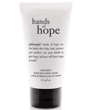 philosophy hope in a jar hope hand and cuticle cream