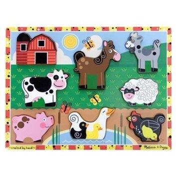Melissa & Doug Chunky Wooden Farm Puzzle