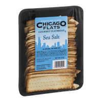Chicago Flats Gourmet Flatbread Sea Salt