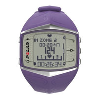 Polar FT60F Heart Rate Monitor, Lilac, 1 ea