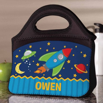 Generic Personalized Rocket To Space Lunch Bag