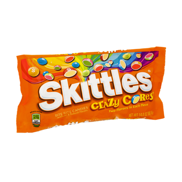 Skittles Crazy Cores Bite Size Candies