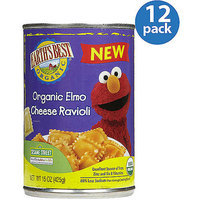 Earth's Best Organic Elmo Cheese Ravioli