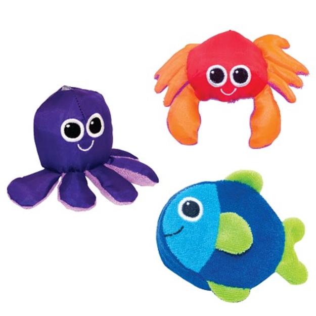 Sassy Soft Swimmers Baby Bath Toys