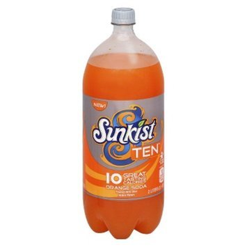 Sunkist Ten Orange Soda