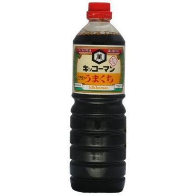 Kikkoman Umakuchi Soy Sauce, 33.8-Ounce (Pack of 3)