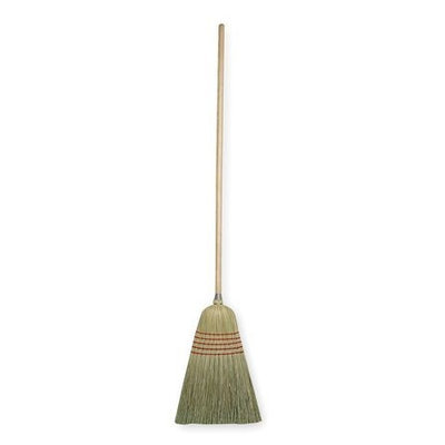 TOUGH GUY 1VAB7 Corn Broom,56 In. OAL,17In. Trim L