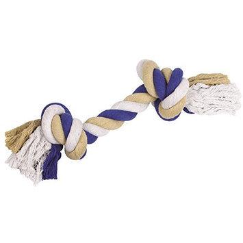 Grriggles Rope Bones Dog Toy 16 BLU